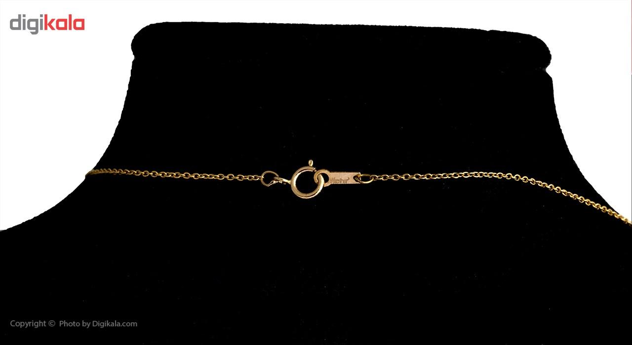 گردنبند طلا 18 عیار ماهک مدل MM0528 - مایا ماهک -  - 1