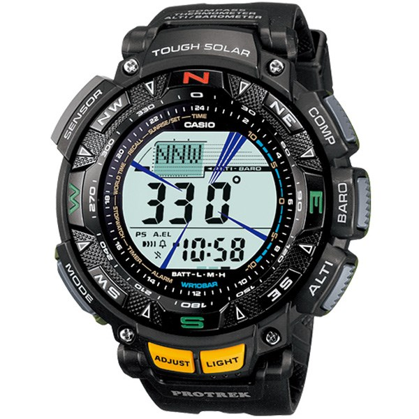 ساعت مچی دیجیتالی مردانه کاسیو پروترک مدل PRG-240-1DR 33