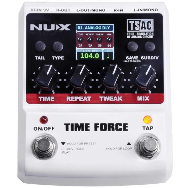 پدال افکت گیتار ان یو ایکس مدل Time Force