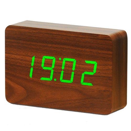 ساعت رومیزی کیمیت مدل Woody 863BR