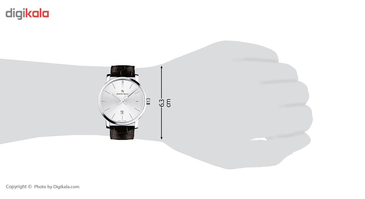 ساعت مچی عقربه ای مردانه آلبرت ریله مدل 203GQ02-SS33I-LB