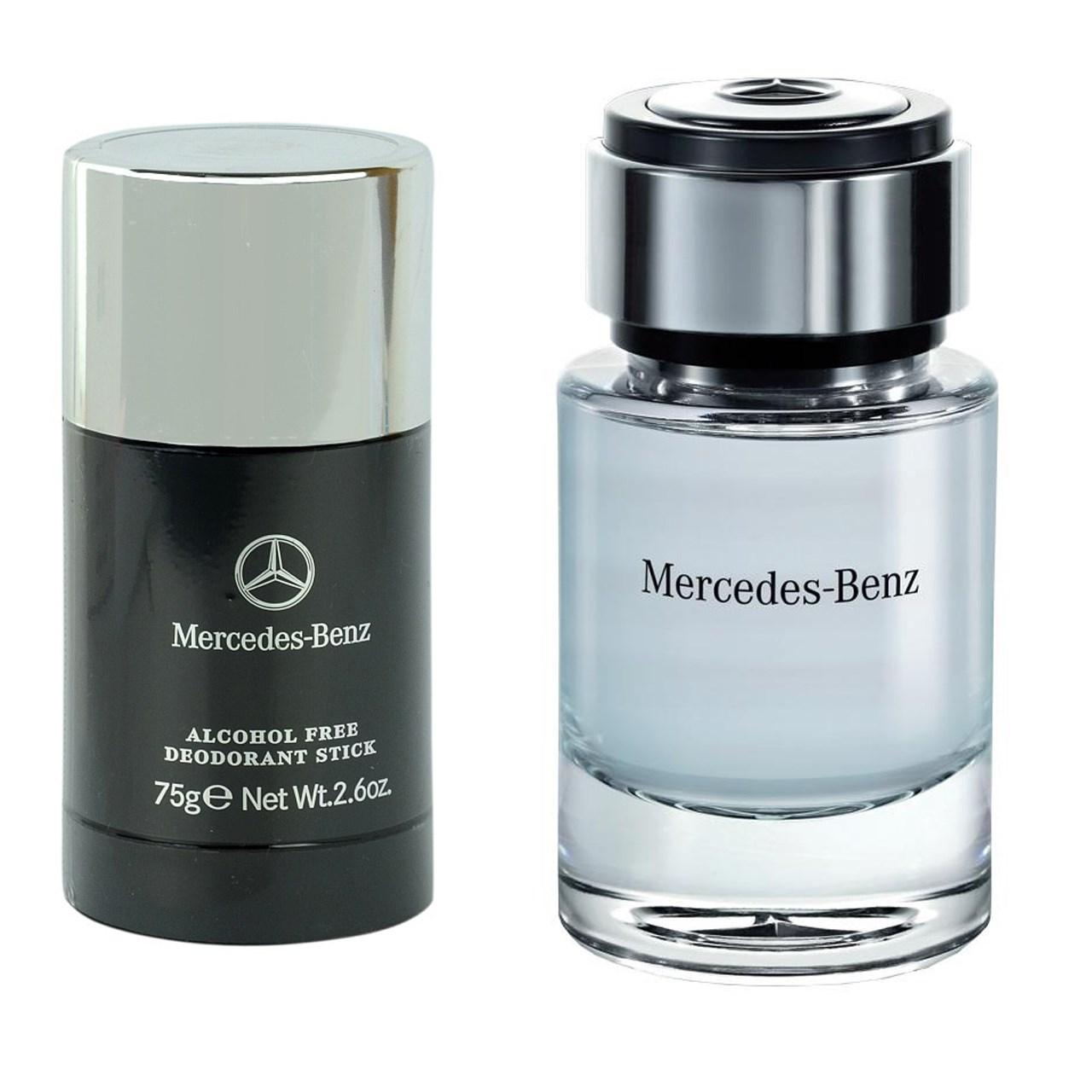 ست ادو تویلت مردانه Mercedes Benz For Men حجم 75ml