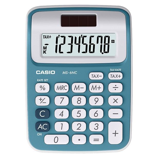 قیمت                      ماشین حساب کاسیو مدل MS-6NC برای سطح مقطع سوم دبستان