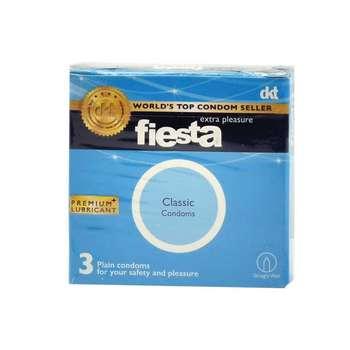 کاندوم ساده فیستا مدل Classic بسته 3 عددی