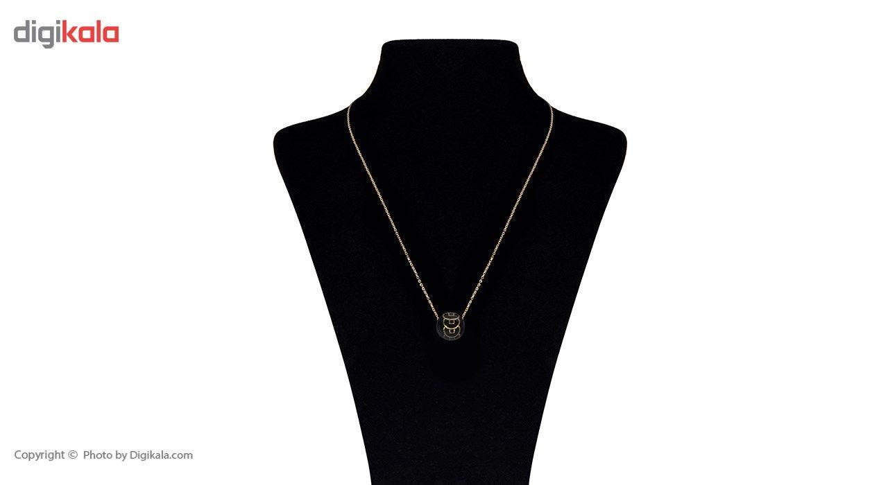 گردنبند طلا 18 عیار ماهک مدل MM0458 - مایا ماهک -  - 1