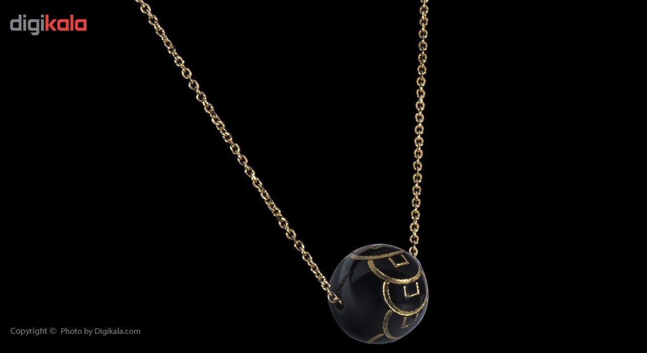 گردنبند طلا 18 عیار ماهک مدل MM0458 - مایا ماهک -  - 4