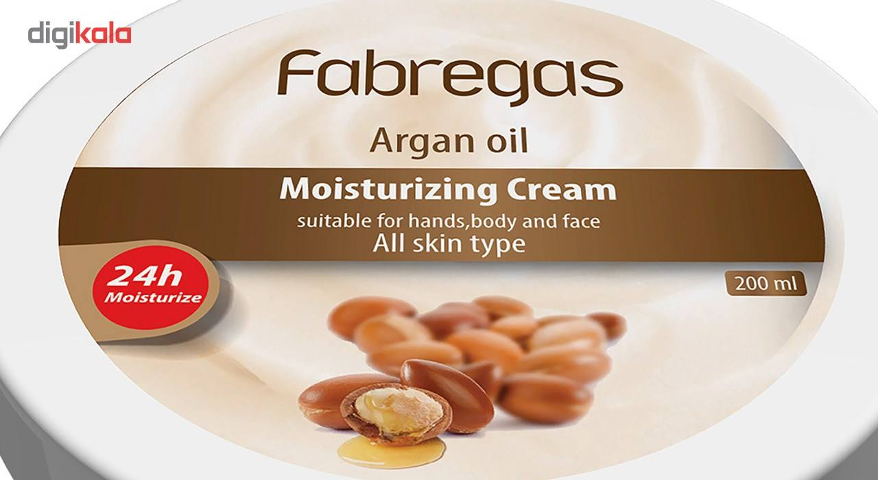 کرم مرطوب کننده فابریگاس مدل Argan Oil حجم 200 میلی لیتر main 1 2