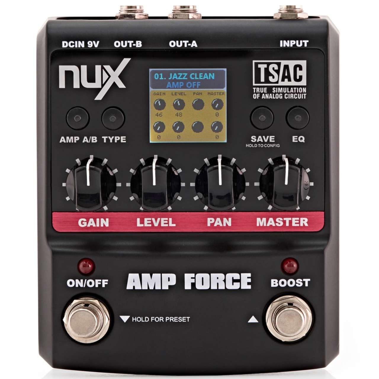 پدال افکت گیتار ان یو ایکس مدل Amp Force