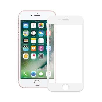 محافظ صفحه نمایش شیشه ای تمپرد مدل Full Cover مناسب برای گوشی موبایل اپل  آیفون 7