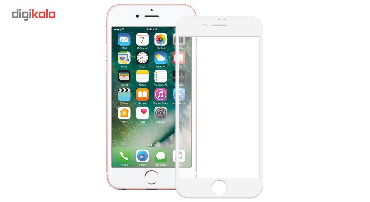 محافظ صفحه نمایش شیشه ای تمپرد مدل Full Cover مناسب برای گوشی موبایل اپل  آیفون 7 main 1 1