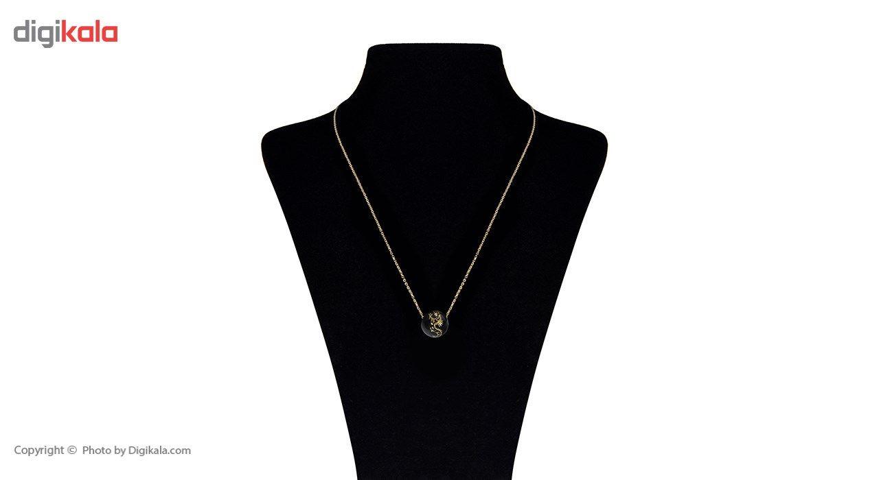 گردنبند طلا 18 عیار ماهک مدل MM0459 - مایا ماهک -  - 1