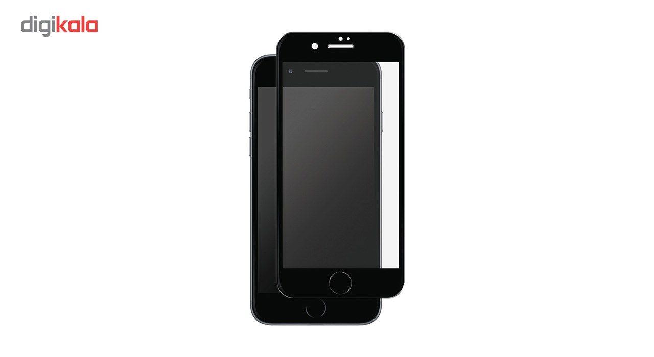 محافظ صفحه نمایش شیشه ای تمپرد مدل Full Cover مناسب برای گوشی موبایل اپل  آیفون 7 main 1 2