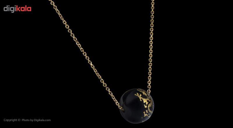 گردنبند طلا 18 عیار ماهک مدل MM0459