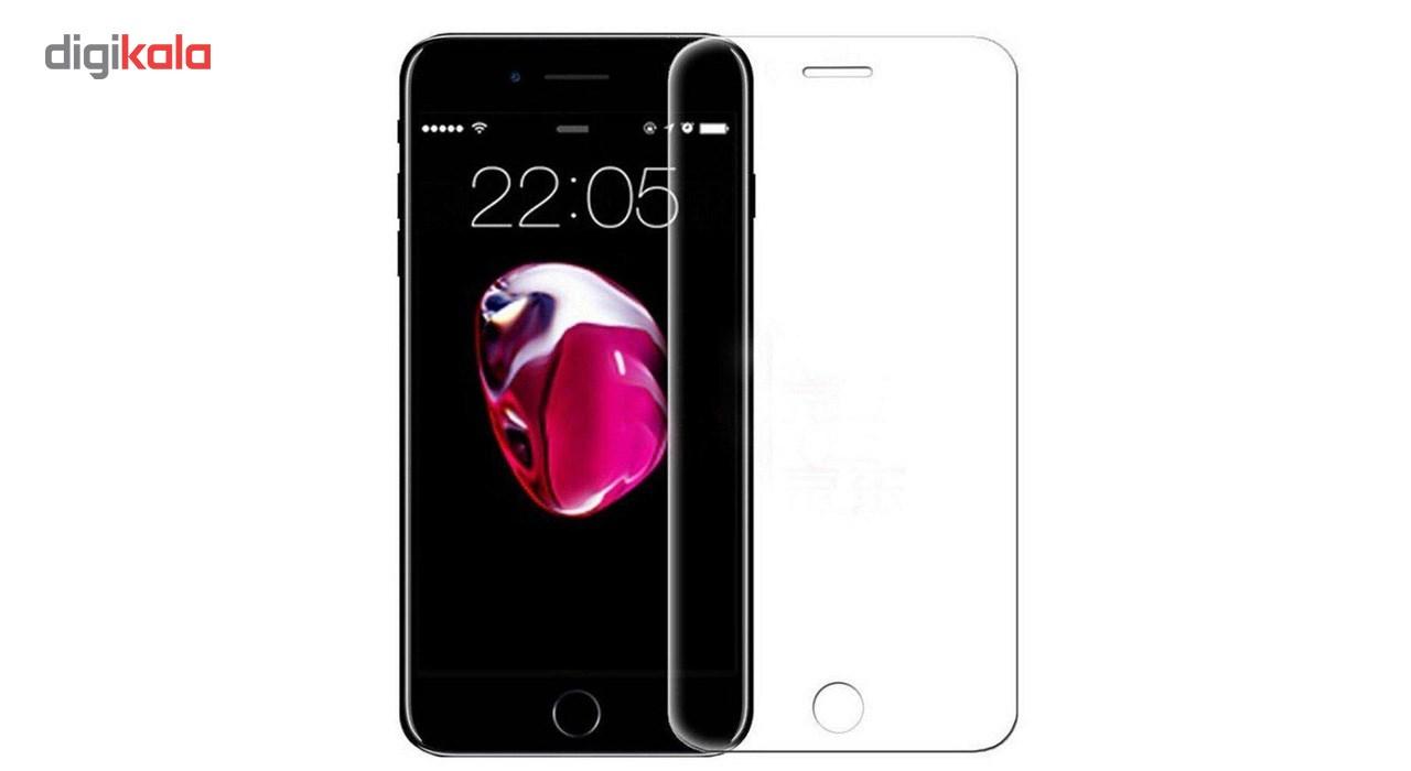 محافظ صفحه نمایش شیشه ای تمپرد مدل Full Cover مناسب برای گوشی موبایل اپل  آیفون 7 main 1 3