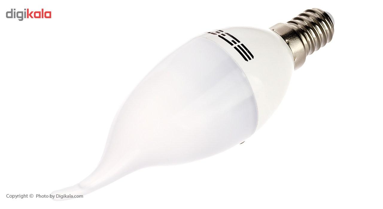 لامپ ال ای دی 5 وات ای دی سی پایه E14 بسته 5 عددی