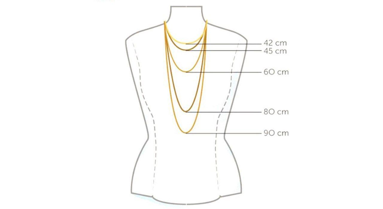 گردنبند طلا 18 عیار ماهک مدل MM0459 - مایا ماهک -  - 2