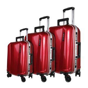 مجموعه سه عددی چمدان ال سی مدل 7-6006