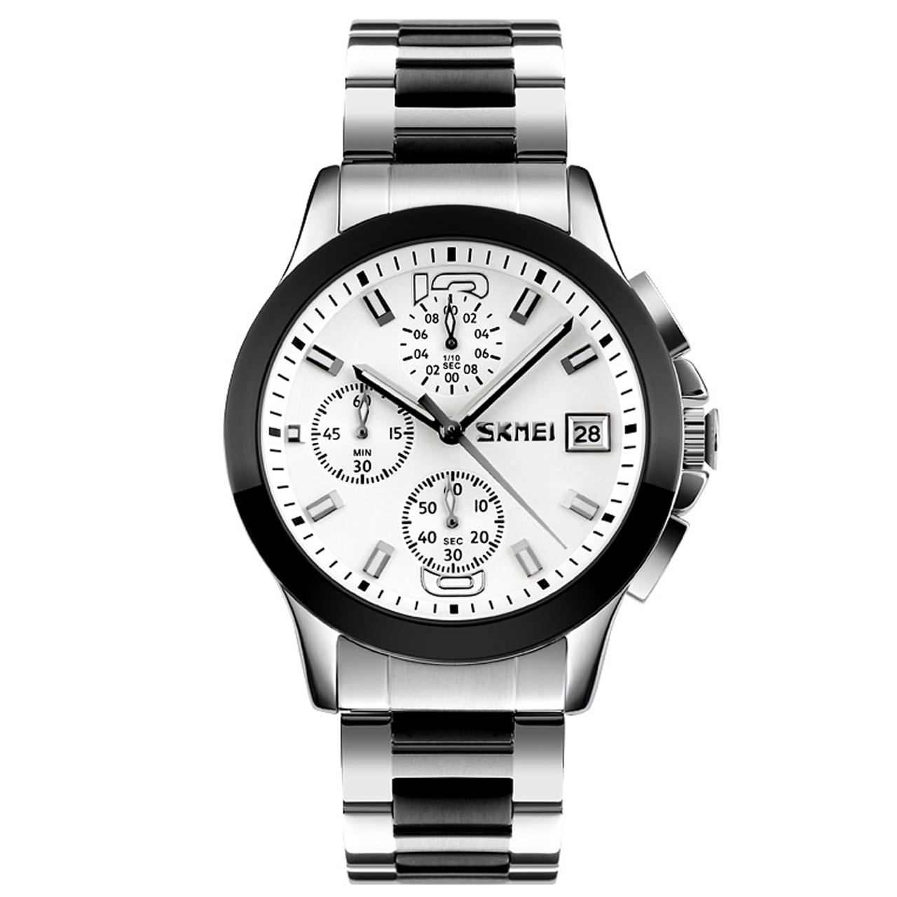 ساعت مچی عقربه ای مردانه اسکمی مدل 9126W-NP              ارزان