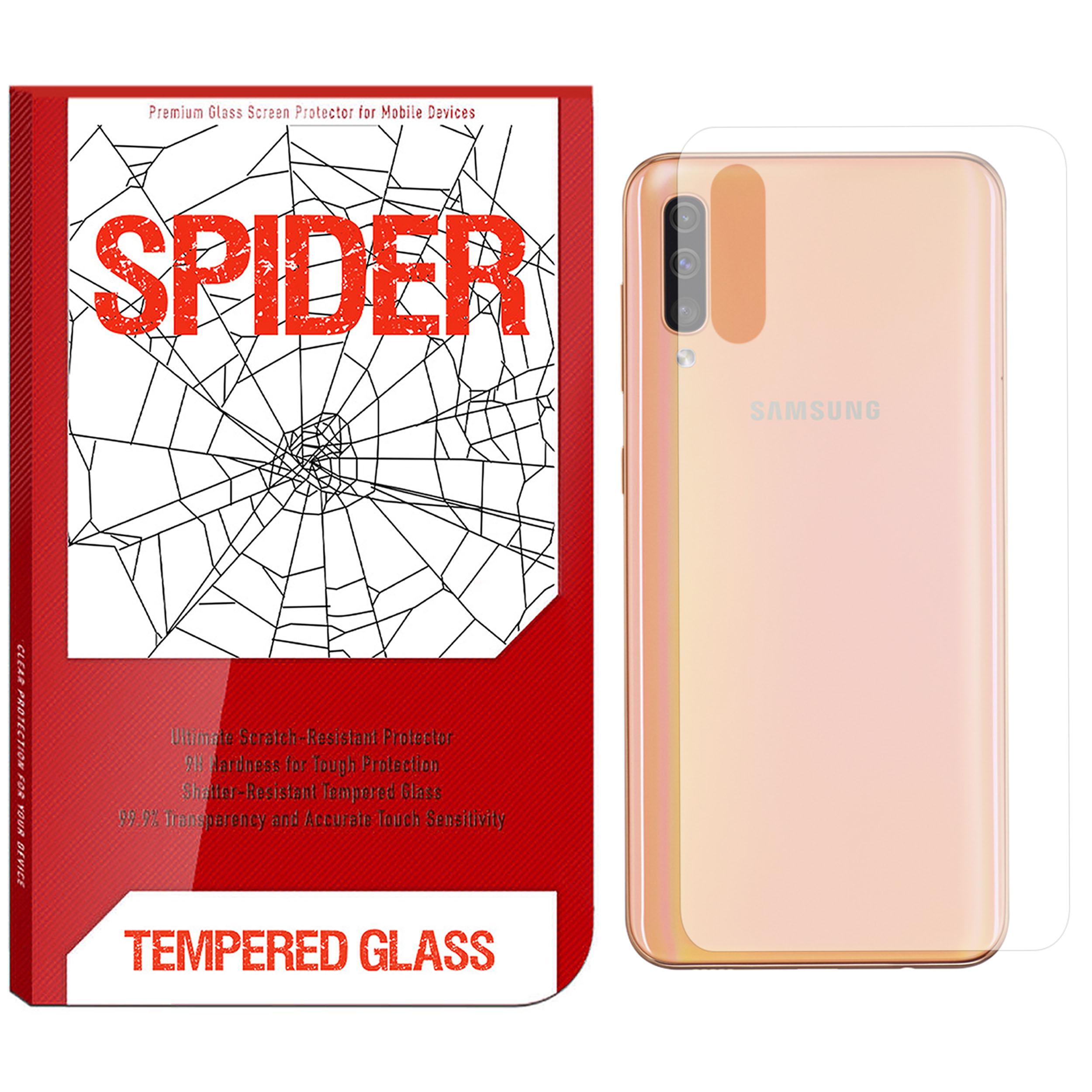 محافظ پشت گوشی اسپایدر مدل TPS-01 مناسب برای گوشی موبایل سامسونگ Galaxy A50