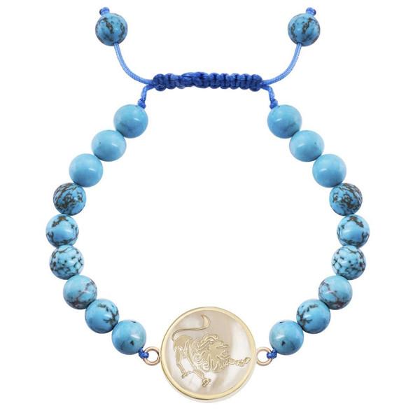 دستبند طلا 18 عیار مرجان مدل0711