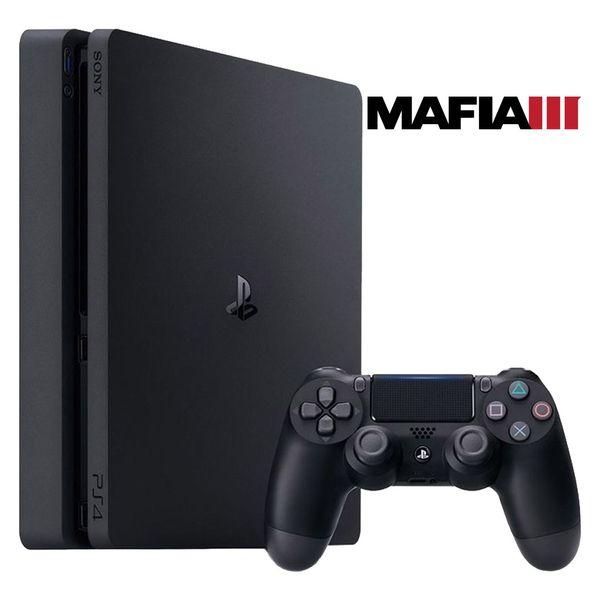 مجموعه کنسول بازی سونی مدل Playstation 4 Slim کد CUH-2016A Region 2 - ظرفیت 1 ترابایت   Sony Playstation 4 Slim Region 2 CUH-2016A 1TB Bundle Game Console