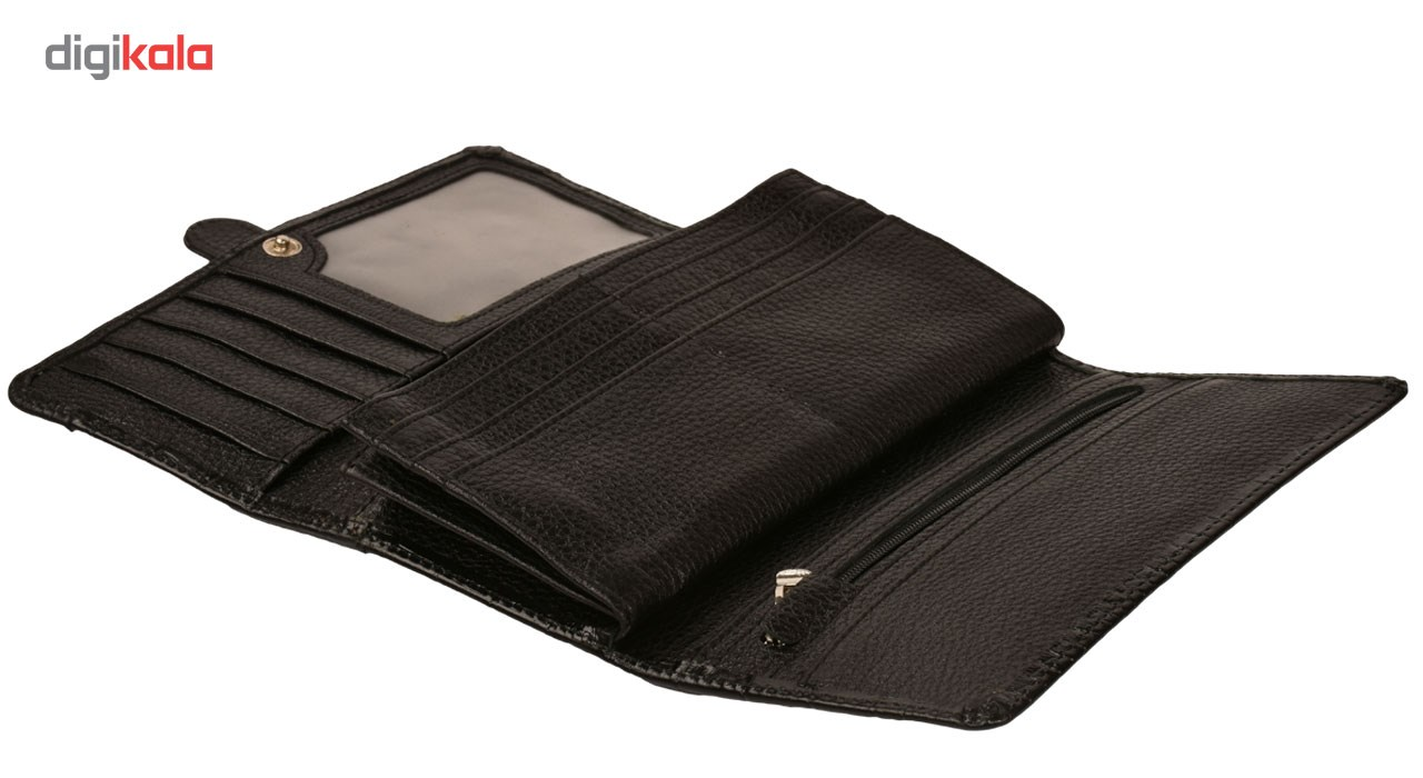 کیف پول کهن چرم مدل50 -LW50
