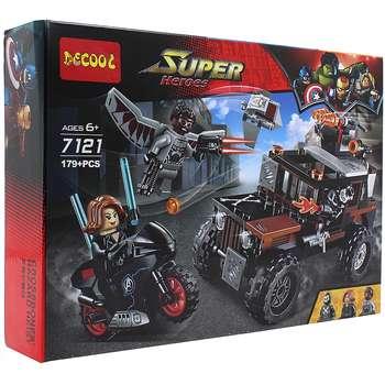 ساختنی دکول مدل Super Heroes 7121