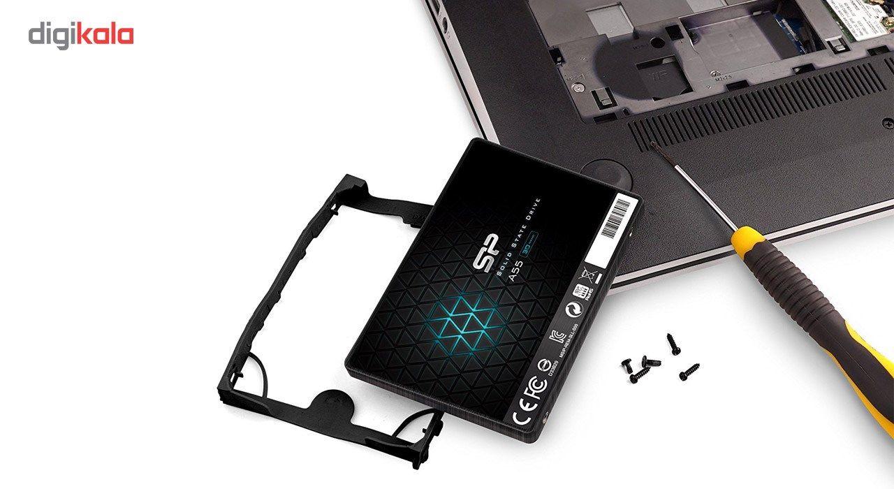 اس اس دی اینترنال SATA3.0 سیلیکون پاور مدل Ace A55 ظرفیت 128 گیگابایت main 1 3
