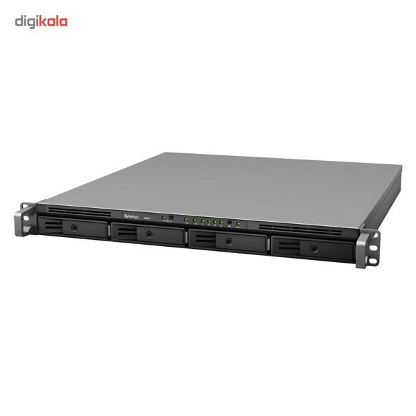 ذخیره ساز تحت شبکه 4Bay سینولوژی مدل رک استیشن RS814