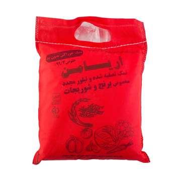 تصویر نمک خوراکی تصفیه شده بدون ید آریامن - 2500 گرم