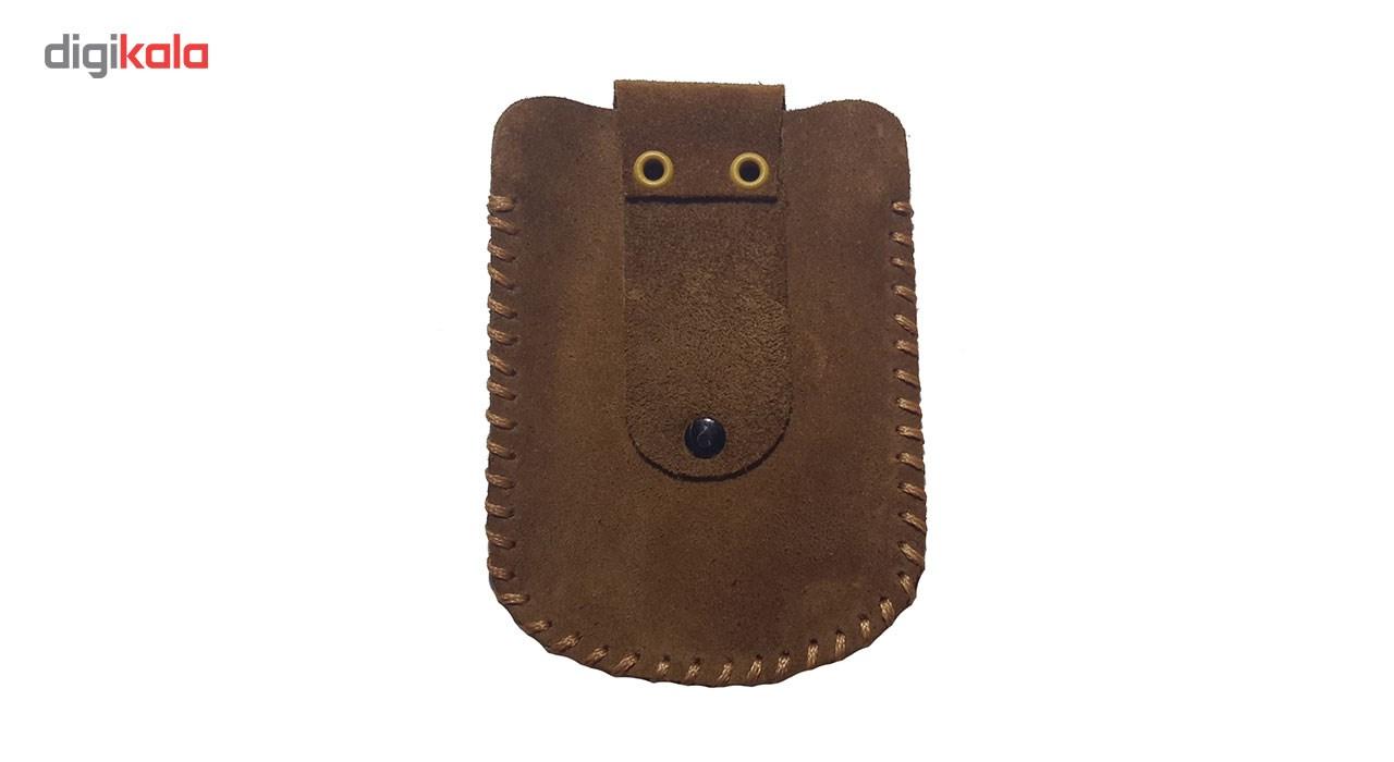 کیف پاسپورتی چرم طبیعی مانی چرم مدل BG-101