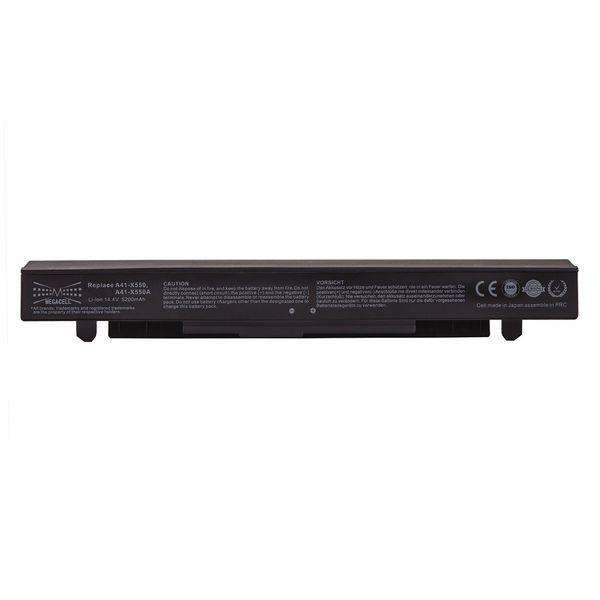 باتری لپ تاپ 6 سلولی مگاسل برای لپ تاپ Asus X550