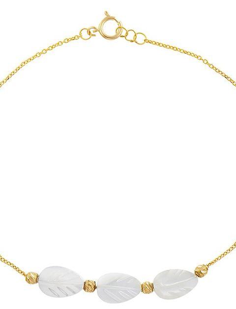 دستبند طلا 18 عیار ماهک مدل MB0178 - مایا ماهک -  - 2