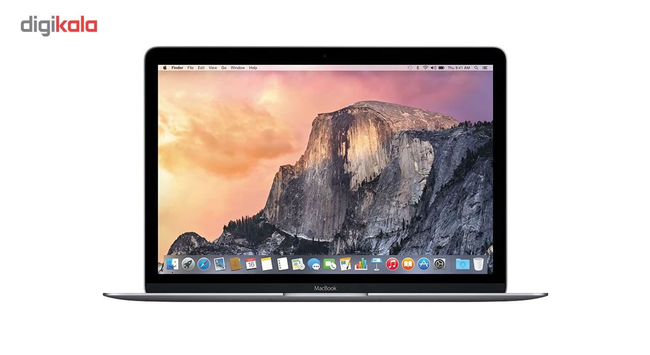 لپ تاپ 12 اینچی اپل مدل MacBook MNYF2 2017