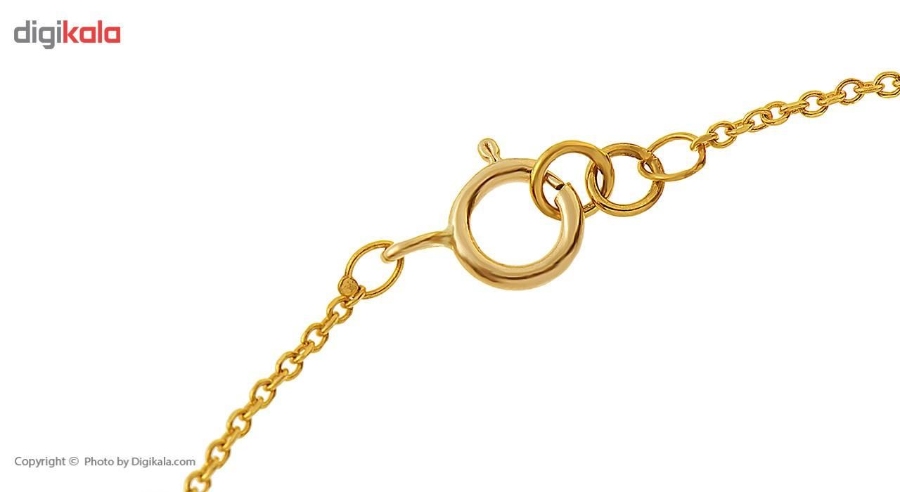 دستبند طلا 18 عیار ماهک مدل MB0178 - مایا ماهک -  - 1