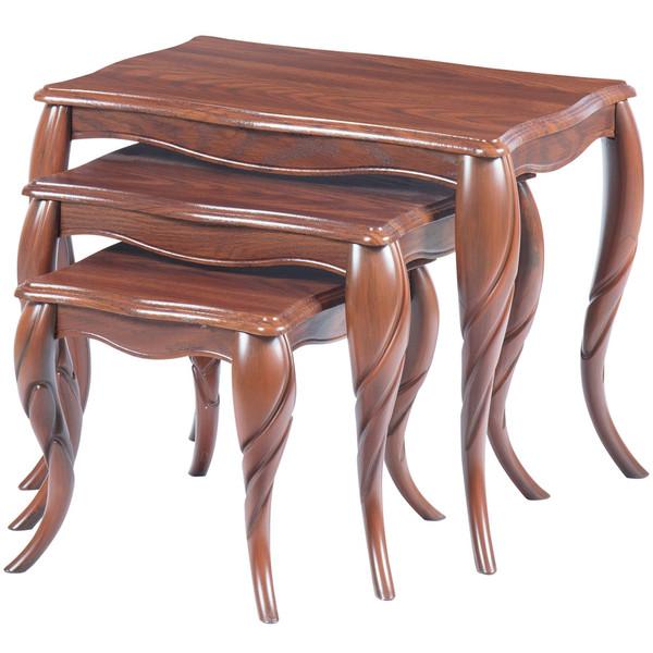 میز عسلی سهیل کد 0070GRT مجموعه سه عددی