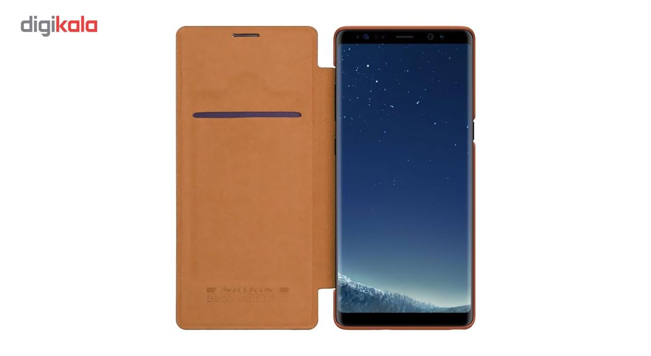 کیف کلاسوری نیلکین مدل Qin مناسب برای گوشی موبایل سامسونگ Galaxy Note 8 main 1 3