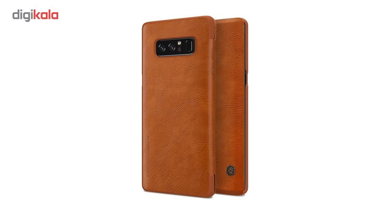کیف کلاسوری نیلکین مدل Qin مناسب برای گوشی موبایل سامسونگ Galaxy Note 8 main 1 4