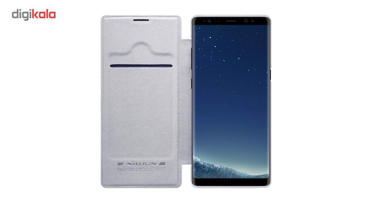 کیف کلاسوری نیلکین مدل Qin مناسب برای گوشی موبایل سامسونگ Galaxy Note 8 main 1 7