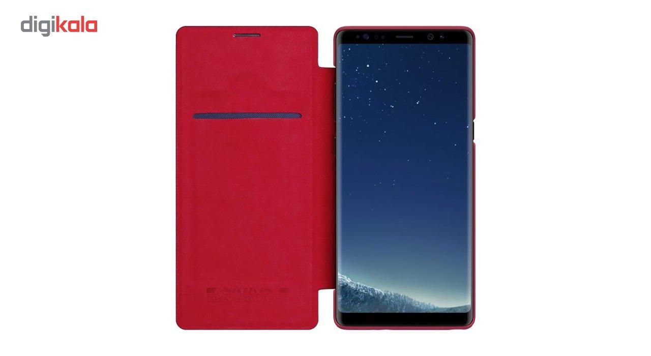کیف کلاسوری نیلکین مدل Qin مناسب برای گوشی موبایل سامسونگ Galaxy Note 8 main 1 11
