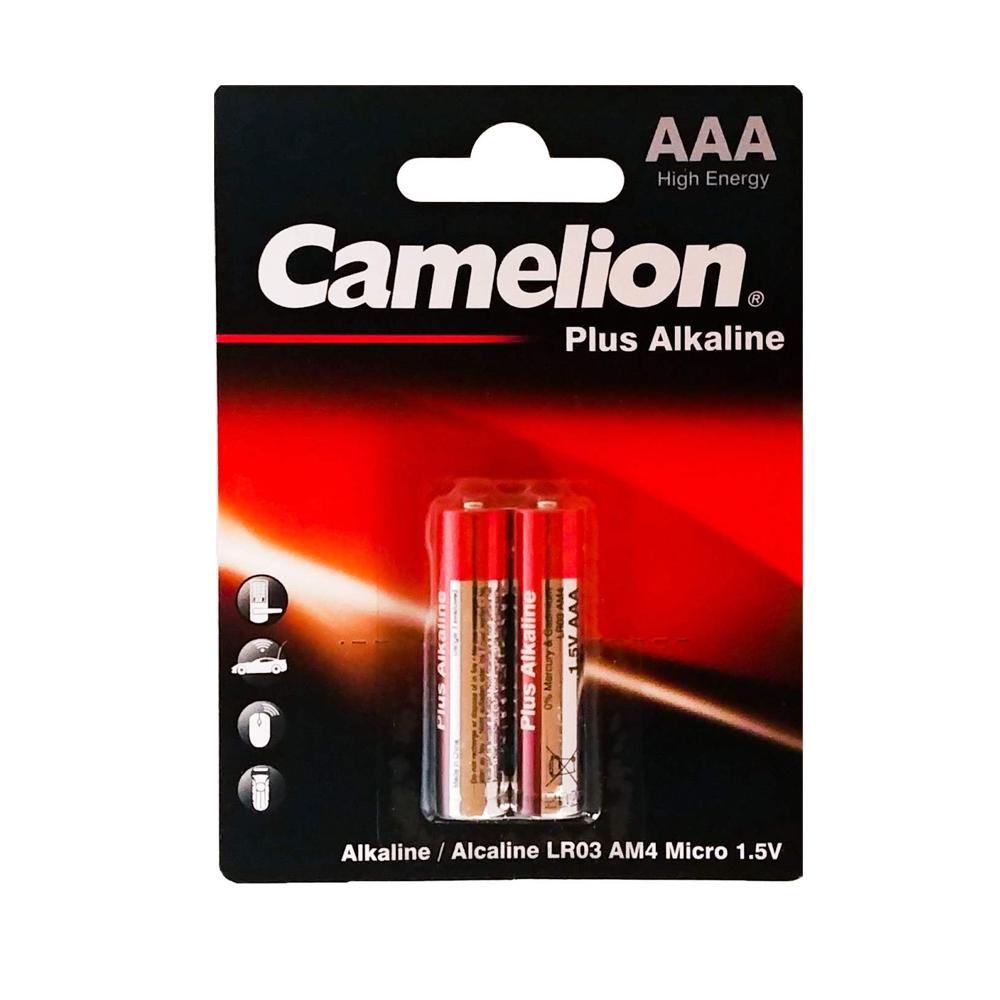 باتری نیم قلمی کملیونكد LR03 بسته 2 عددی