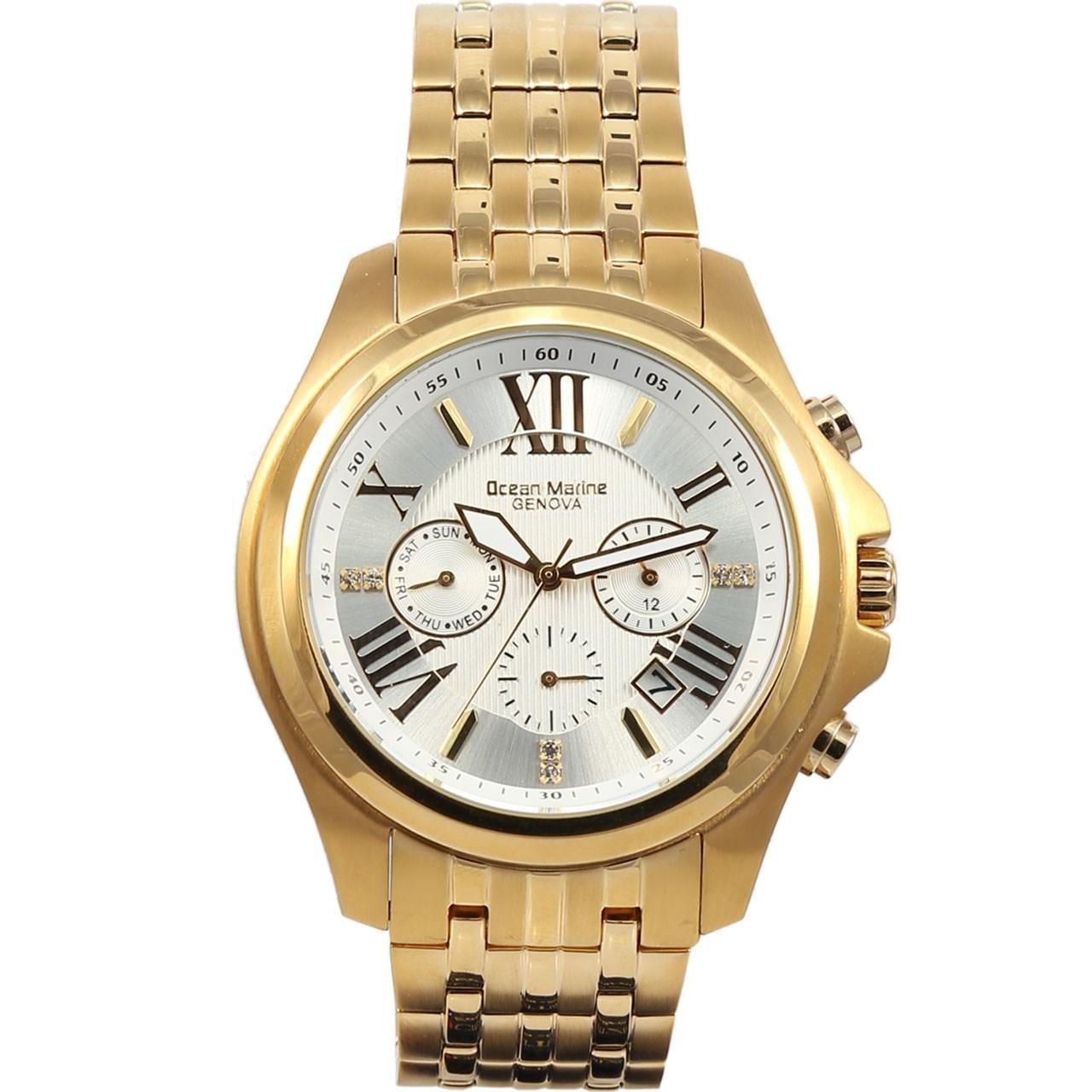 ساعت مچی عقربه ای مردانه اوشن مارین مدل OM9959-4