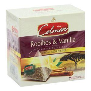 بسته دمنوش گیاهی سلمار مدل Rooibos and Vanilla