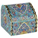 جعبه استخوانی اثر بهشتی طرح تذهیب 5 سایز کوچک
