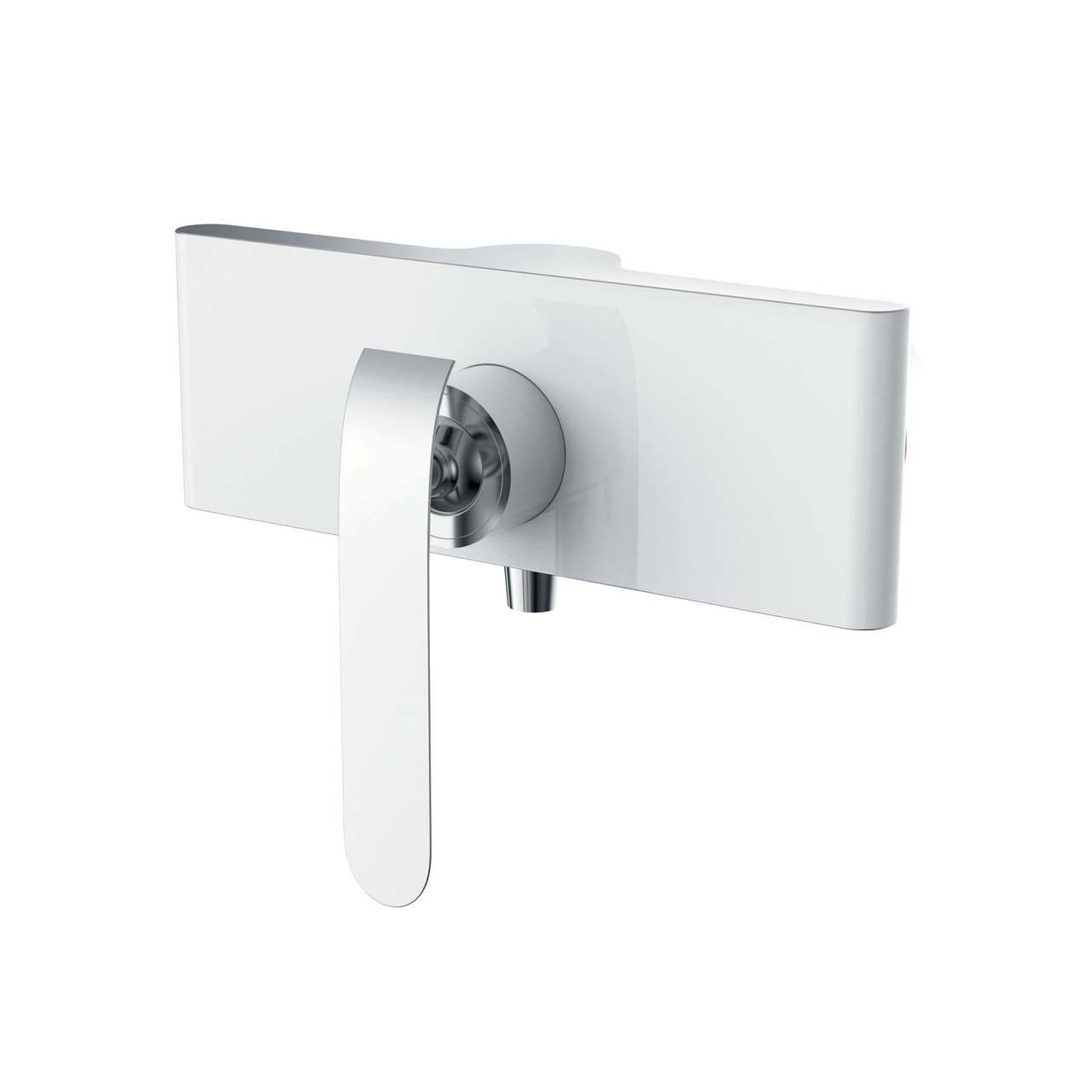شیر توالت ویسن تین مدل BIANCO سفید کروم