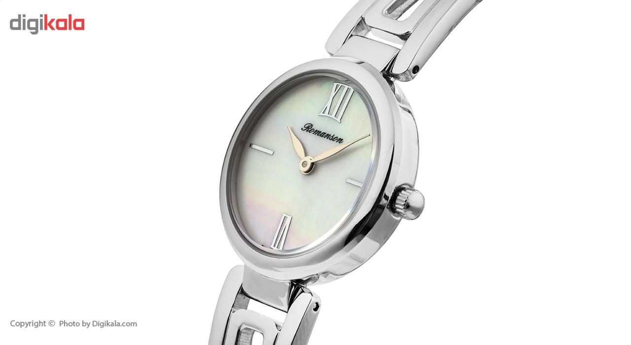 ساعت مچی عقربه ای زنانه رومانسون مدل RM7A02LLWWM1R1