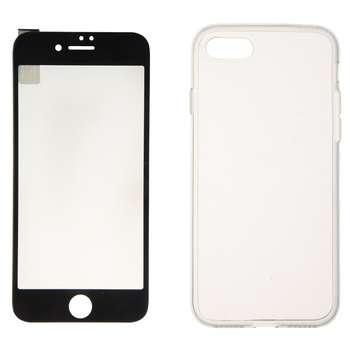 محافظ صفحه نمایش شیشه ریمکس مدل Crystal مناسب برای گوشی موبایل آیفون 8\7