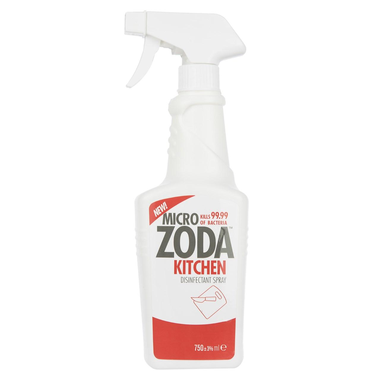 خرید اینترنتی                     اسپری ضدعفونی کننده آشپزخانه میکروزدا مدل Kitchen Disinfectant حجم 750 میلی لیتر
