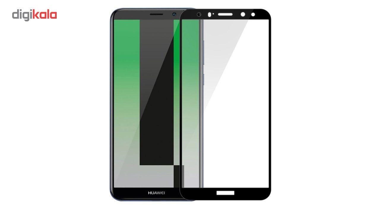 محافظ صفحه نمایش شیشه ای تمپرد مدل Full Cover مناسب برای گوشی موبایل هوآوی Mate 10 Lite main 1 1