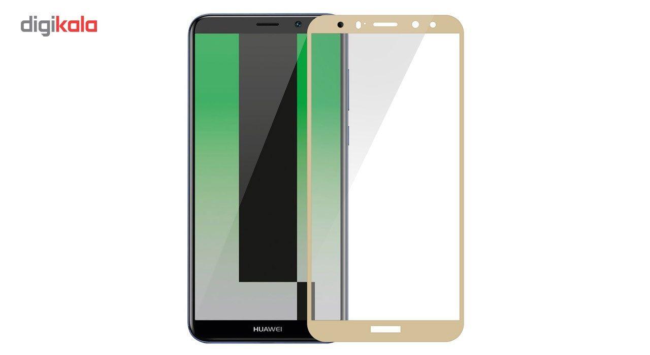 محافظ صفحه نمایش شیشه ای تمپرد مدل Full Cover مناسب برای گوشی موبایل هوآوی Mate 10 Lite main 1 2